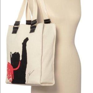 Jason Wu for Target Canvas Tote Bag Milu Print Cat
